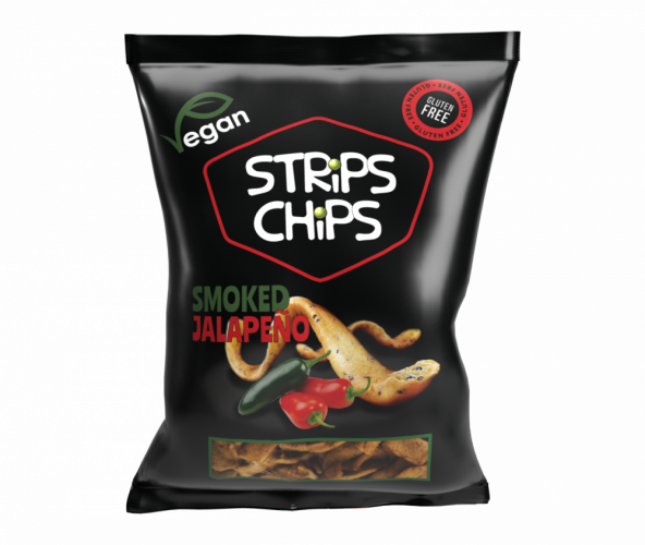 STRiPS CHiPS - Smoked Jalapeňo 80 g